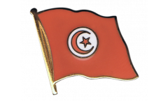 Tunisia Flag Pin, Badge - 1 x 1 inch