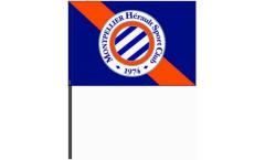 HSC Montpellier Hand Waving Flag - 16 x 24 inch