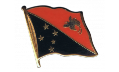 Papua New Guinea Flag Pin, Badge - 1 x 1 inch
