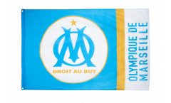 Olympique Marseille Logo Flag - 3 x 5 ft. / 90 x 150 cm