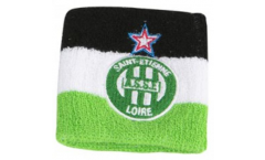 AS Saint-Etienne Wristband / sweatband, 2 pcs - 3.15 x 3.5 inch