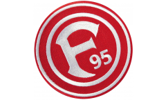 Fortuna Düsseldorf Logo Patch, Badge - 3.15 x 3.15 inch