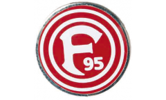 Fortuna Düsseldorf Logo Pin, Badge - 0.6 x 0.6 inch