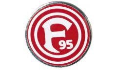 Fortuna Düsseldorf Logo Pin, Badge - 0.6 x 0.6 inch