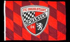 FC Ingolstadt 04 Flag - 3.3 x 5 ft. / 100 x 150 cm