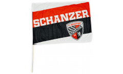 FC Ingolstadt 04 Schanzer Hand Waving Flag - 2 x 3 ft. / 60 x 90 cm