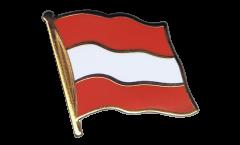 Austria Flag Pin, Badge - 1 x 1 inch