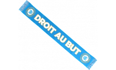 Olympique Marseille DROIT AU BUT Scarf - 4.2 ft. / 130 cm
