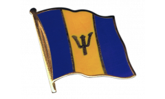 Barbados Flag Pin, Badge - 1 x 1 inch