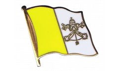 Vatican Flag Pin, Badge - 1 x 1 inch