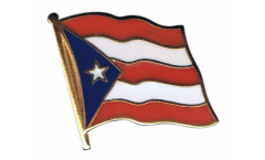 Puerto Rico Flag Pin, Badge - 1 x 1 inch