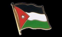 Jordan Flag Pin, Badge - 1 x 1 inch