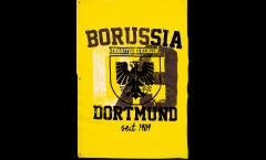 Borussia Dortmund Stadtwappen Flag - 3.3 x 5 ft. / 100 x 150 cm