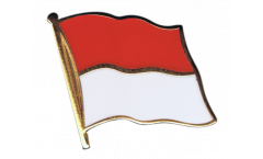 Indonesia Flag Pin, Badge - 1 x 1 inch