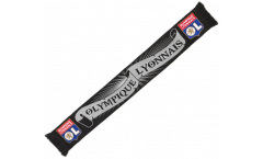Olympique Lyon Black Scarf - 4.2 ft. / 130 cm
