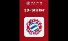 FC Bayern München Logo Sticker - 2.35 x 2.35 inch