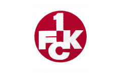 1. FC Kaiserslautern Logo Patch, Badge- approx. 2.5 inch / 6 cm