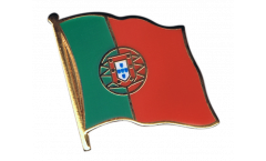 Portugal Flag Pin, Badge - 1 x 1 inch