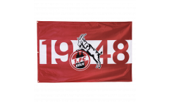 1. FC Köln 1948 Flag - 4 x 5 ft. / 120 x 180 cm