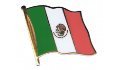 Mexico Flag Pin, Badge - 1 x 1 inch