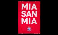 FC Bayern München Mia San Mia Flag - 3.3 x 5 ft. / 100 x 150 cm