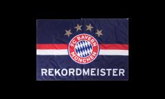 FC Bayern München Rekordmeister blue Flag - 3.3 x 5 ft. / 100 x 150 cm