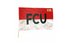 1.FC Union Berlin FCU Hand Waving Flag - 2 x 3 ft. / 60 x 90 cm