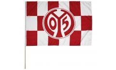 1. FSV Mainz 05 Logo Hand Waving Flag - 2 x 3 ft. / 60 x 90 cm