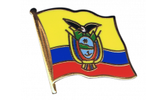 Ecuador Flag Pin, Badge - 1 x 1 inch