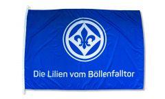 SV Darmstadt 98 Die Lilien vom Böllenfalltor Flag - 3.3 x 5 ft. / 100 x 150 cm