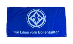 SV Darmstadt 98 Die Lilien vom Böllenfalltor Flag - 3 x 4.5 ft. / 70 x 140 cm