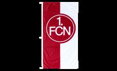 1. FC Nürnberg Logo red-white Flag - 75 x 150 cm