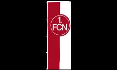 1. FC Nürnberg Logo red-white Flag - 5 x 13 ft. / 150 x 400 cm