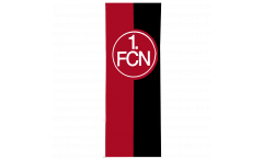 1. FC Nürnberg Logo red-black Flag - 5 x 13 ft. / 150 x 400 cm