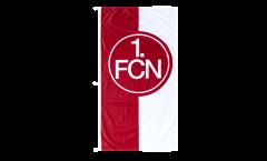 1. FC Nürnberg Logo red-white Flag - 4 x 8 ft. / 120 x 250 cm