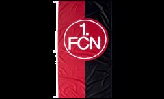 1. FC Nürnberg Logo red-black Flag - 4 x 8 ft. / 120 x 250 cm