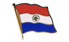 Paraguay Flag Pin, Badge - 1 x 1 inch