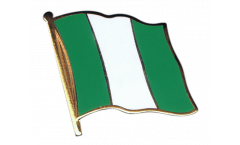Nigeria Flag Pin, Badge - 1 x 1 inch