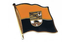 Germany Saxony-Anhalt Flag Pin, Badge - 1 x 1 inch