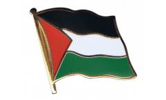 Palestine Flag Pin, Badge - 1 x 1 inch