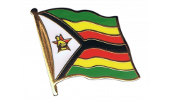 Zimbabwe Flag Pin, Badge - 1 x 1 inch