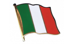 Italy Flag Pin, Badge - 1 x 1 inch