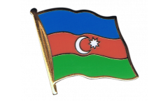 Azerbaijan Flag Pin, Badge - 1 x 1 inch