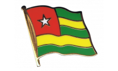Togo Flag Pin, Badge - 1 x 1 inch