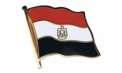 Egypt Flag Pin, Badge - 1 x 1 inch