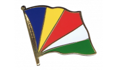 Seychelles Flag Pin, Badge - 1 x 1 inch