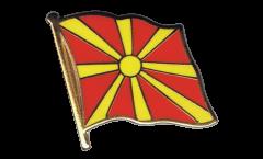 Macedonia Flag Pin, Badge - 1 x 1 inch