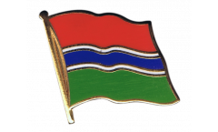 Gambia Flag Pin, Badge - 1 x 1 inch