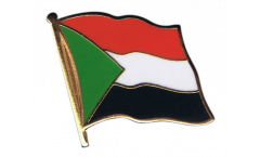 Sudan Flag Pin, Badge - 1 x 1 inch