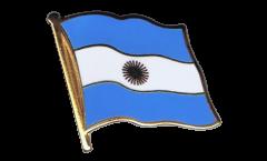 Argentina Flag Pin, Badge - 1 x 1 inch